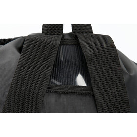 speedo Deluxe Ventilator Bolsa de red L, black/white